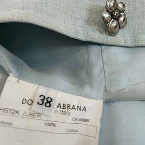 Dolce & Gabbana Other - Light blue Dolce and Gabbana suit/ blazer & skirt!